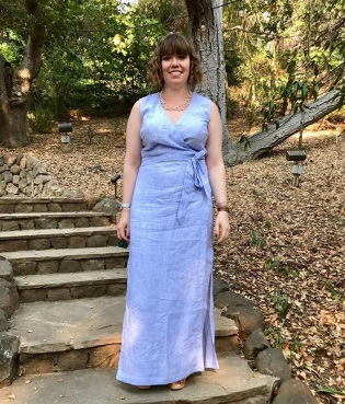 Highlands Wrap-dress